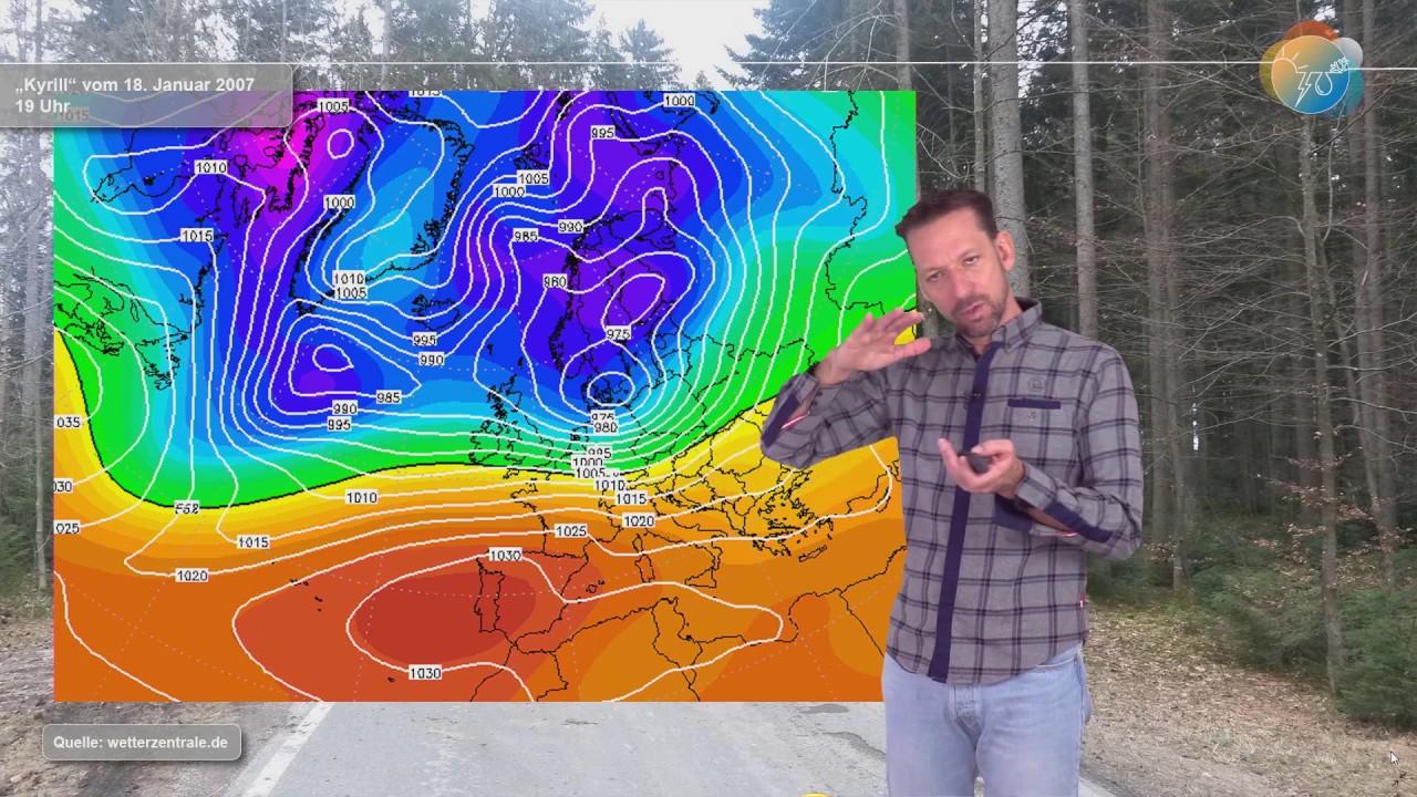 Ist Orkan SABINE wie Orkan KYRILL? Gemeinsamkeiten oder Unterschiede, Sturm oder Orkan?