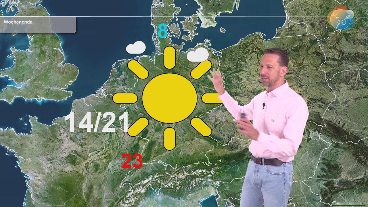 Wettervorhersage. Wie wird die Woche? Wie frühlingshaft wird es?