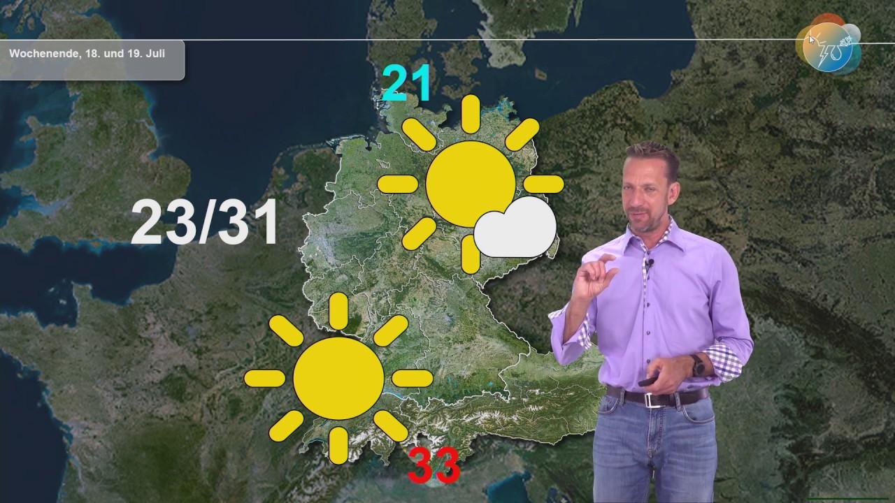 Aktuelle Wettervorhersage 12. Juli: Noch mal wechselhaft und windig mit Regen, dann 3 Tage Sommer!