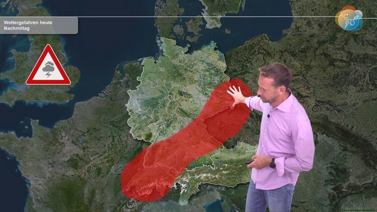 Aktuelle Wettervorhersage für 10. Juli 2020: Unwettergefahr, Starkregen, dann kommt die Entspannung!