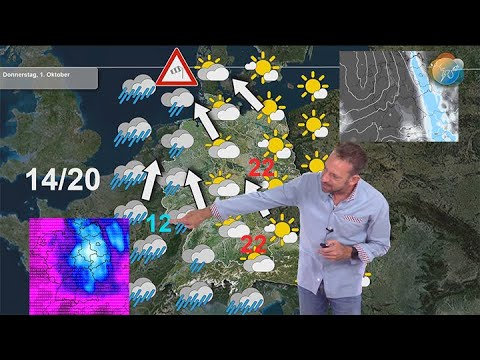 Aktuelle Wettervorhersage 28. Sep bis 4. Okt: Mehr Wolken als Sonne, auf Alpensüdseite viel Regen.