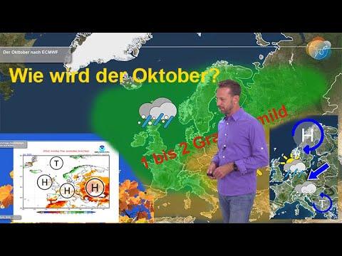 Langfrist: Wie wird der Oktober? Wie wird das Wetter im Oktober? Wann fällt der erste Schnee?