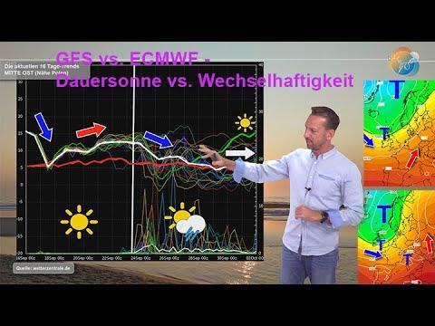 Wetterprognose: Wie endet der September? Wie beginnt der Oktober? Wann beginnt es zu regnen?