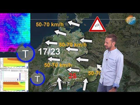 Aktuelle Wetter-, Wind- & Föhnvorhersage 30. Sep. – 4. Okt: Dazu Regen- und Bodenfeuchtebilanz.